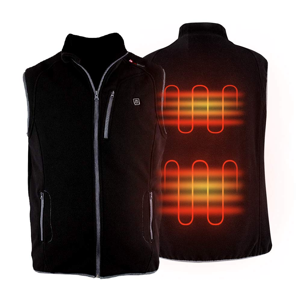heated golf vest