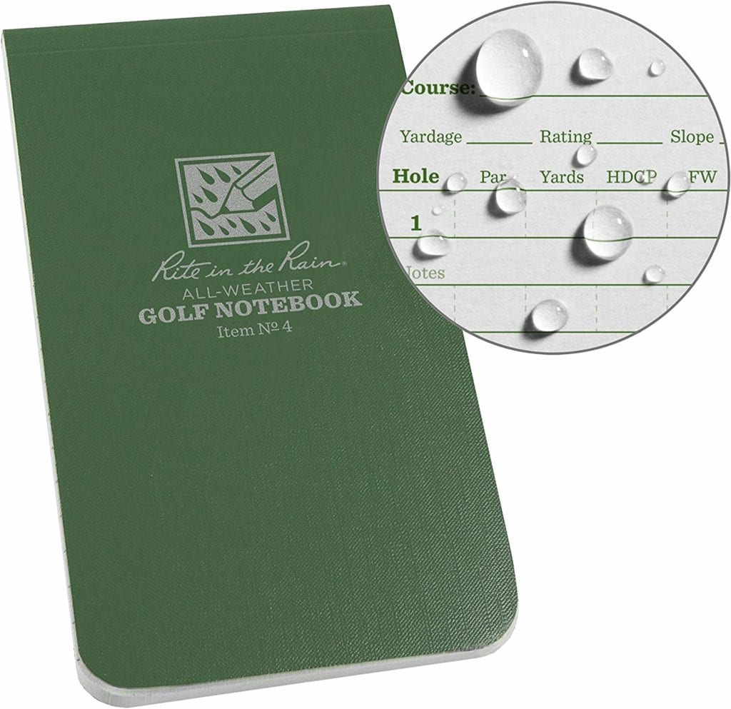 best golf yardage books
